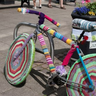 Yarn Bombing of Droitwich Spa